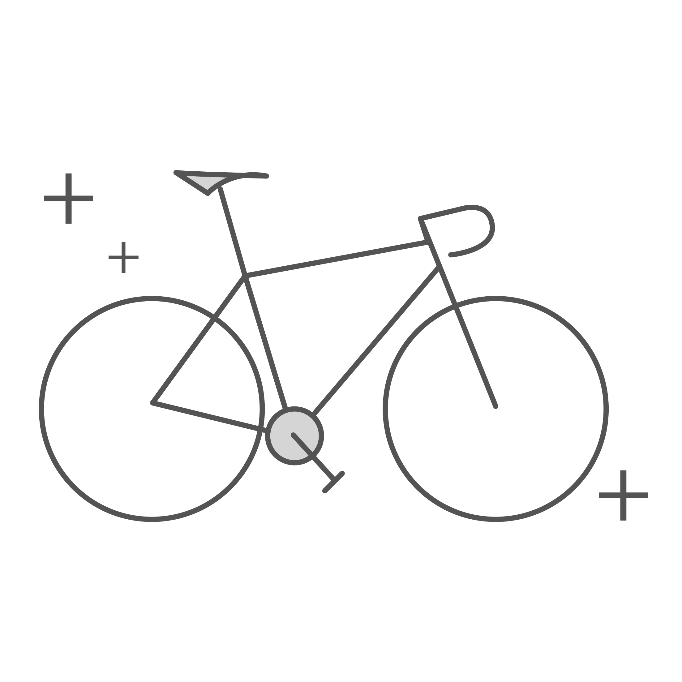 Bike fit icon